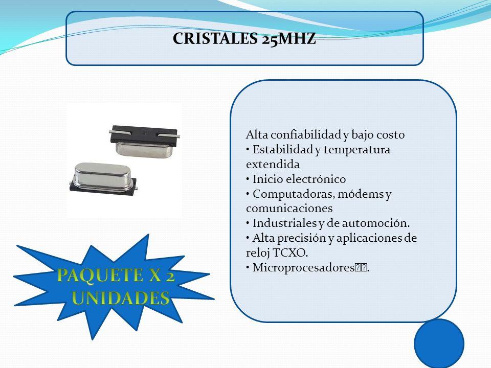 Alta confiabilidad y bajo costo Estabilidad y temperatura extendida Inicio electrónico Computadoras, módems y comunicaciones Industriales y de automoc