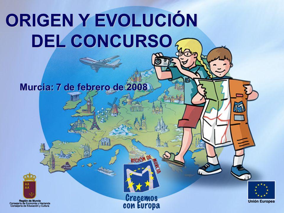 ORIGEN Y EVOLUCIÓN DEL CONCURSO Murcia: 7 de febrero de 2008