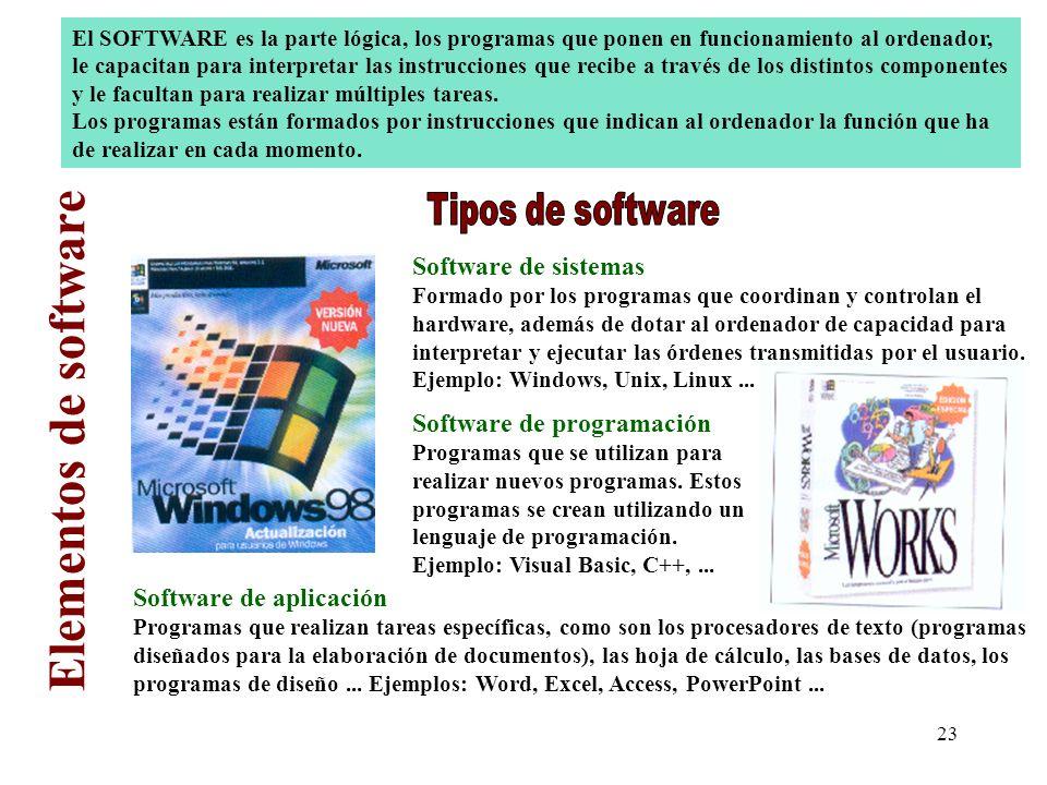 22 La salud y el ordenador Es importante seguir unas normas básicas a la hora de utilizar un ordenador ya que se pueden producir daños físicos en el o