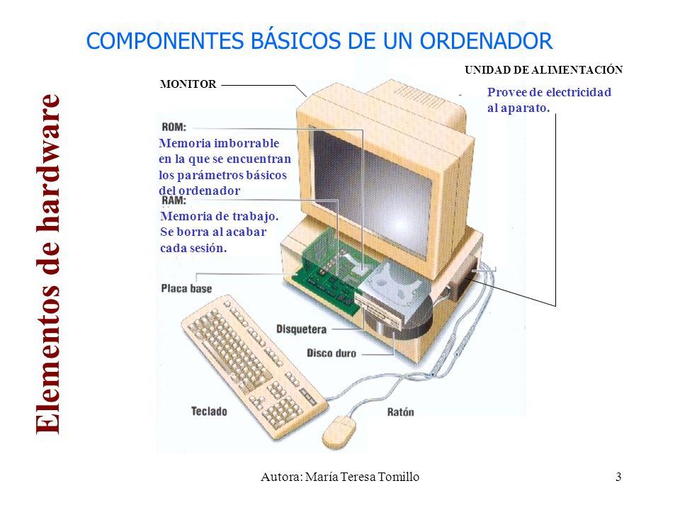 2 INTRODUCCIÓN: COMPONENTES DE UN ORDENADOR 1 Altavoces 2 Módem 3 Micrófono 4 RAM 5 CPU 6 Teclado 7 Ratón 8 CD-ROM 9 Disquetera 10 Disco duro 11 Impresora 12 Puertos 13 Monitor 14 Tarjetas de expansión