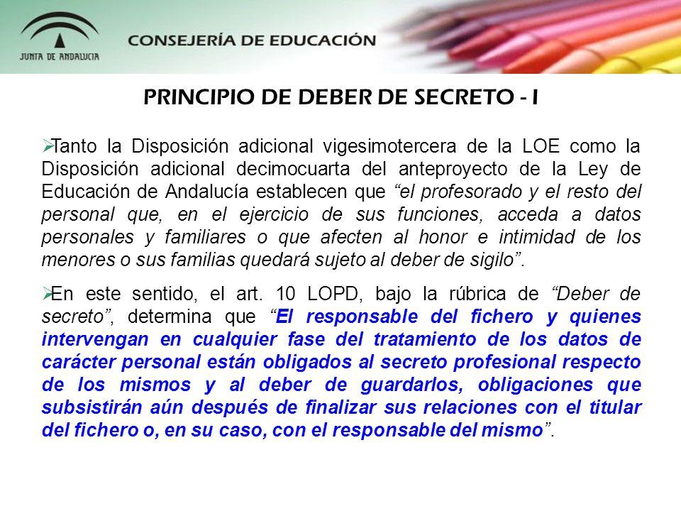 Tanto la Disposición adicional vigesimotercera de la LOE como la Disposición adicional decimocuarta del anteproyecto de la Ley de Educación de Andaluc