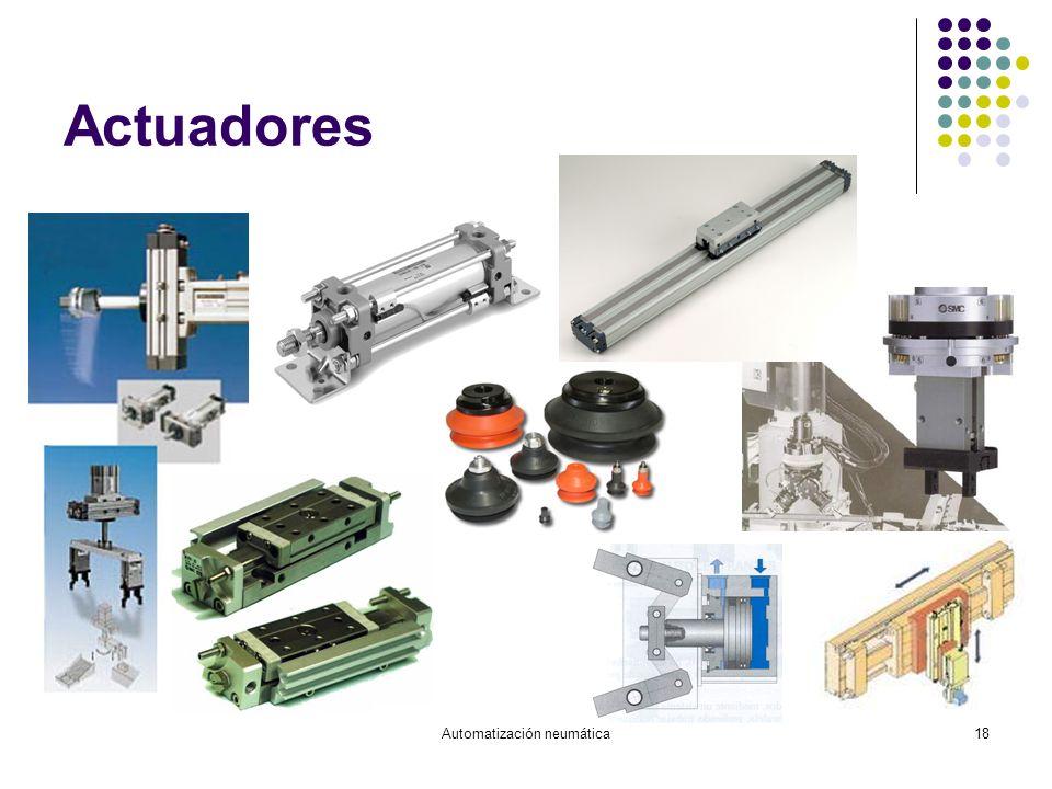 Automatización neumática18 Actuadores