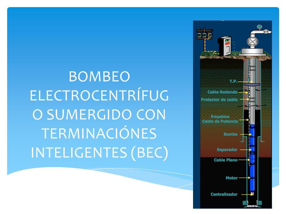 BOMBEO ELECTROCENTRÍFUG O SUMERGIDO CON TERMINACIÓNES INTELIGENTES (BEC)