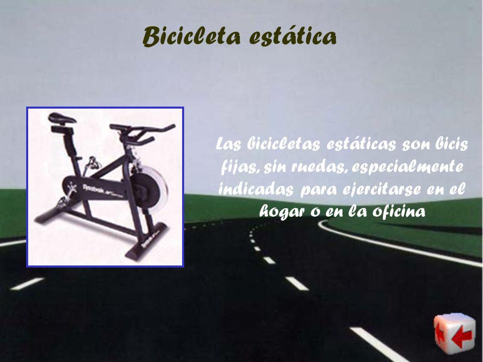 Bicicleta de carreras Las bicis de carreras son bicis muy ligeras, con cambios de velocidades y con llantas muy finas. Estas bicis se utilizan para co