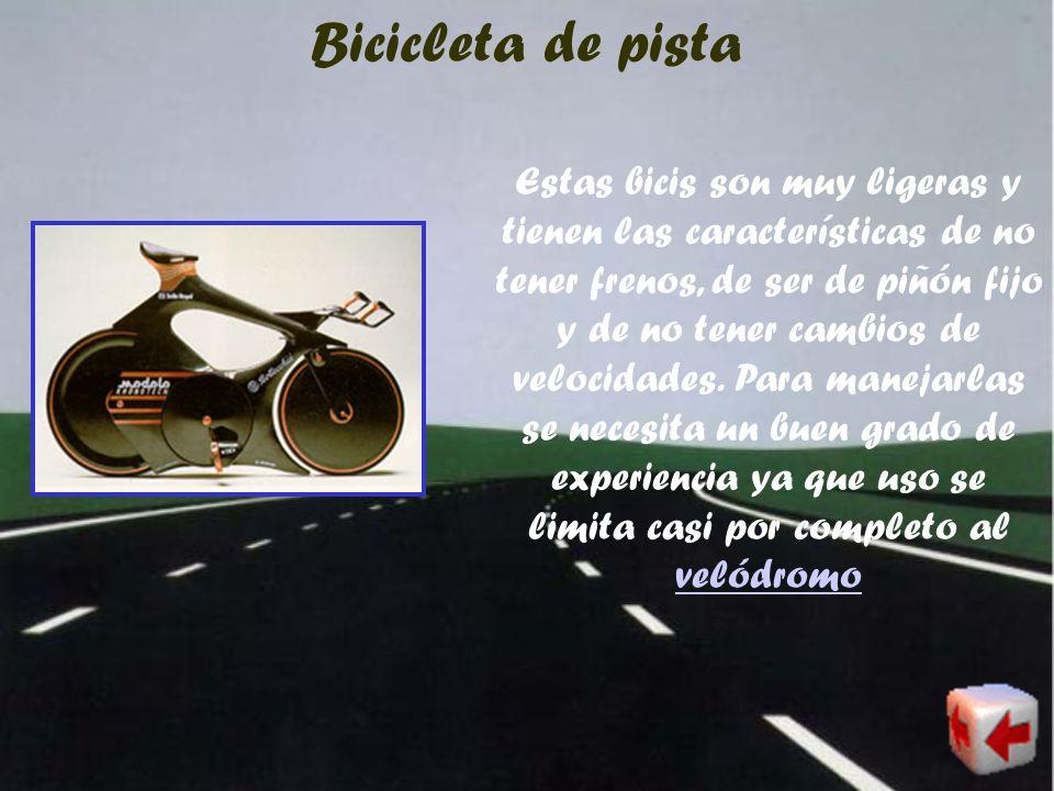 Bicicleta BMX Las BMXs son bicis de dimensiones similares a la de cross, pero con aditamentos especiales dado que quienes las usan desempeñan un sinnú