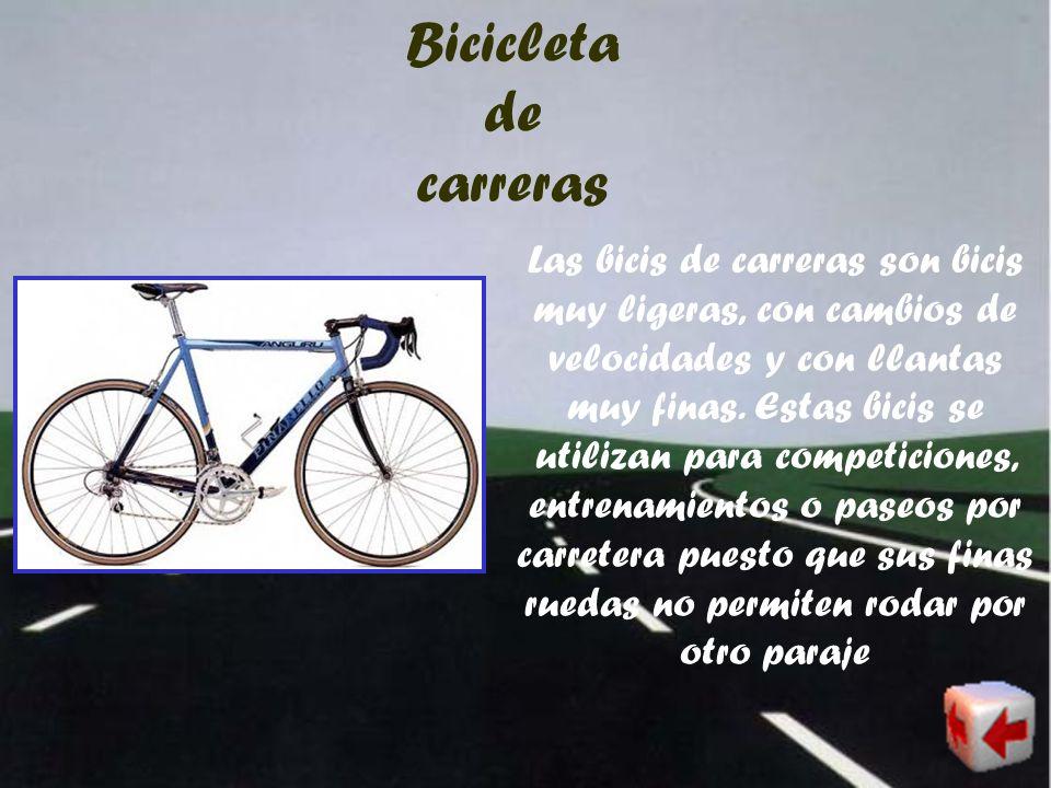 3-Tipos Tipos de bicicletas Tipos de usuarios De carreras Estática Tipo turismo De trabajo De montaña De cross BMX De pista De ruta Híbrida Para triat