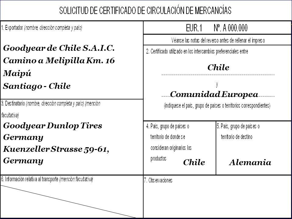 SOFOFA Uso exclusivo del Organismo Certificador