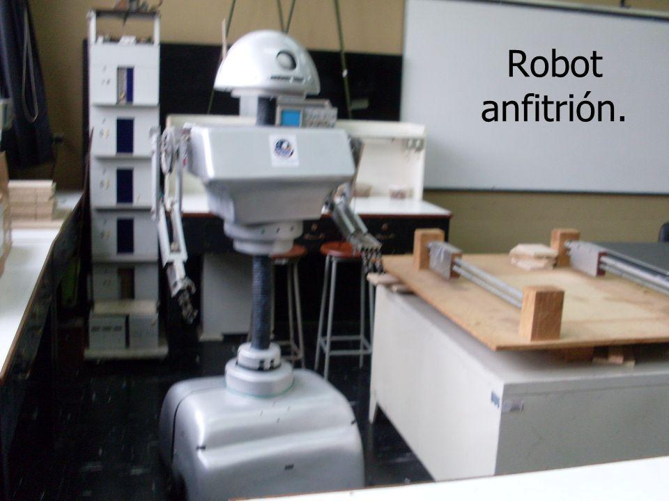 José Carlos Alvarez Merino alvarezjcar@hotmail.com25 Robot anfitrión.