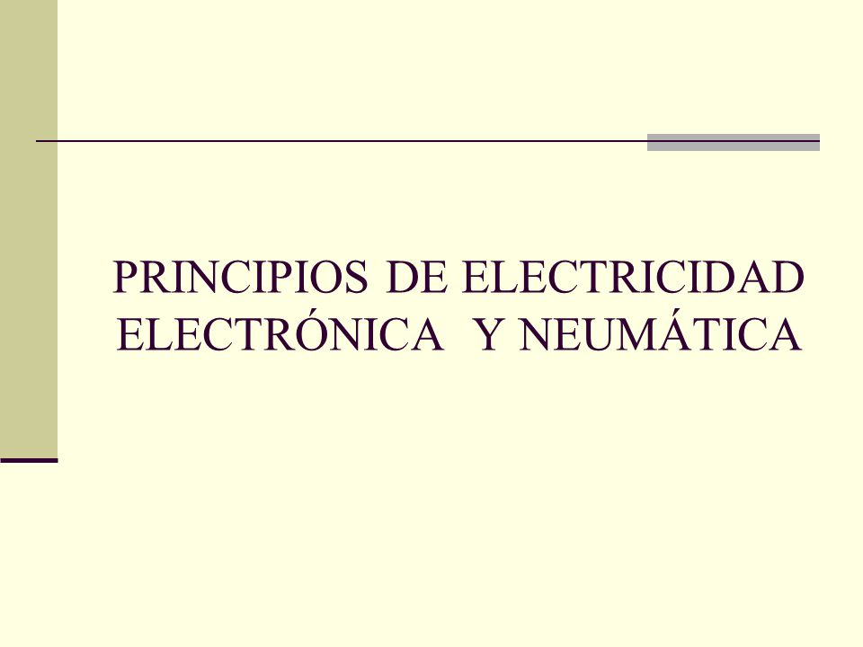 ELECTRICIDAD Y ELECTRÓNICA La electricidad es el área que se encarga del estudio del comportamiento e interacción de las cargas eléctricas.