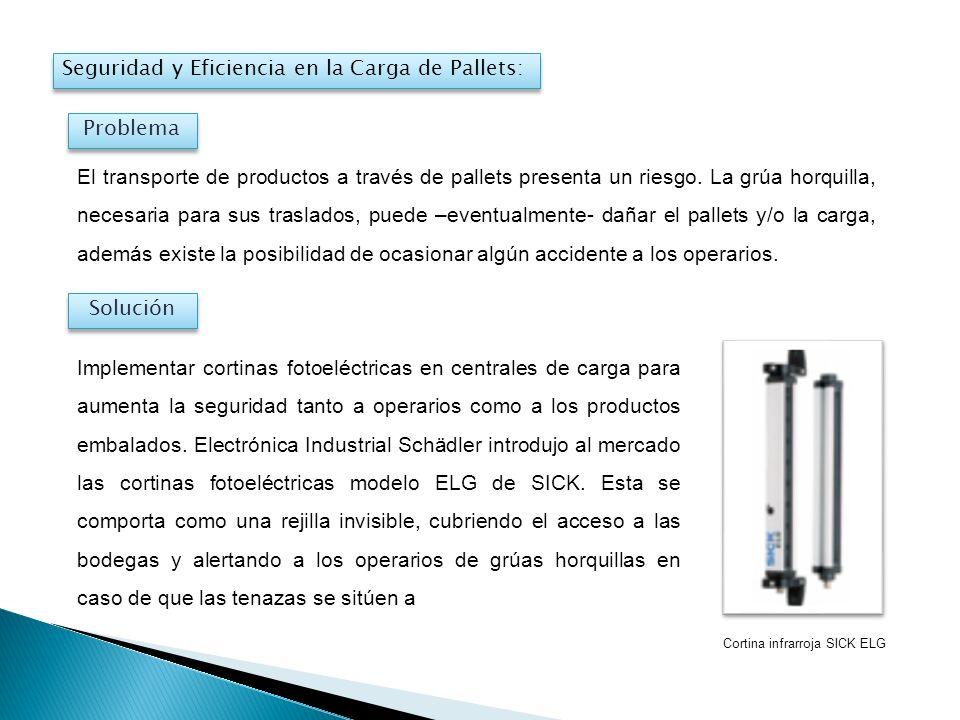 Seguridad y Eficiencia en la Carga de Pallets: El transporte de productos a través de pallets presenta un riesgo. La grúa horquilla, necesaria para su