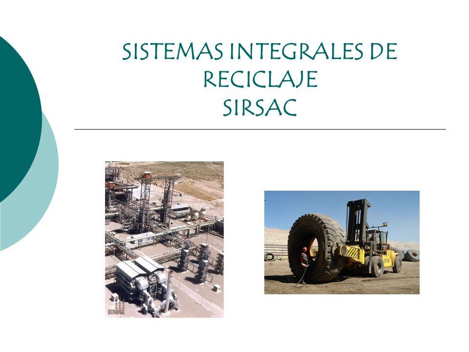 SISTEMAS INTEGRALES DE RECICLAJE SIRSAC