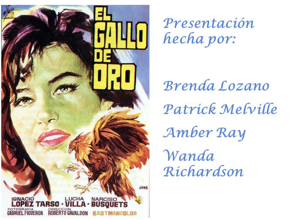 Presentación hecha por: Brenda Lozano Patrick Melville Amber Ray Wanda Richardson