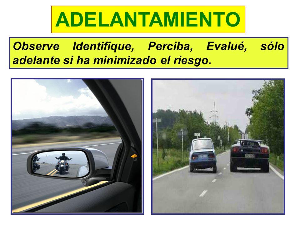 EL ADELANTAMIENTO -CUANDO LO ADELANTEN A USTED: Ponga su direccional derecha en señal que lo vió. Si es necesario disminuya la velocidad, para facilit