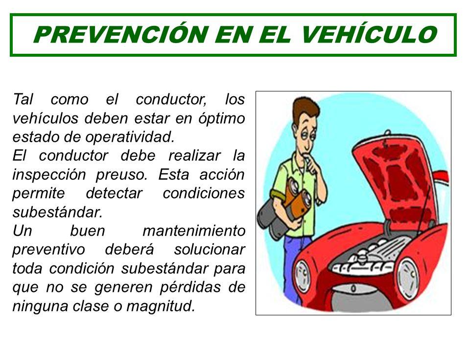 Su control, depende del conductor o la organización que sostiene y mantiene su operatividad. Un vehículo 100% operativo es el primer complemento impor