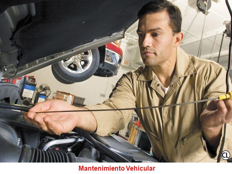 INSPECCIÓN PREVENTIVA DEL VEHÍCULO Neumáticos Todas las luces Todos los indicadores de nivel de fluidos (freno, aceite, agua, refrigerante, etc.) Espe