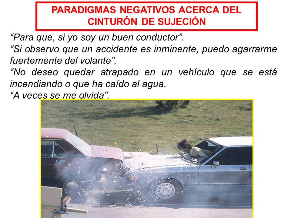 Absorbe la fuerza del choque. Ayuda a conservar el control del vehículo, al mantener al conductor en su asiento. Brinda un 45% más de posibilidades de