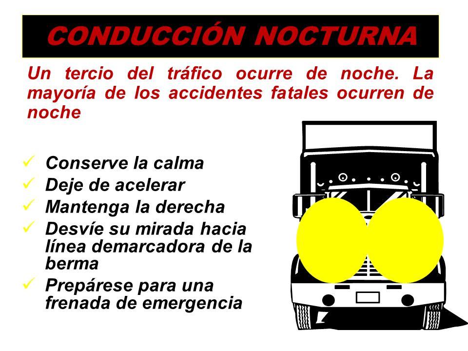 Una óptima Aptitud para Conducir, sumado a la óptima Condición Operativa Vehicular, hace posible enfrentar con éxito cualquier condición de la vía y d