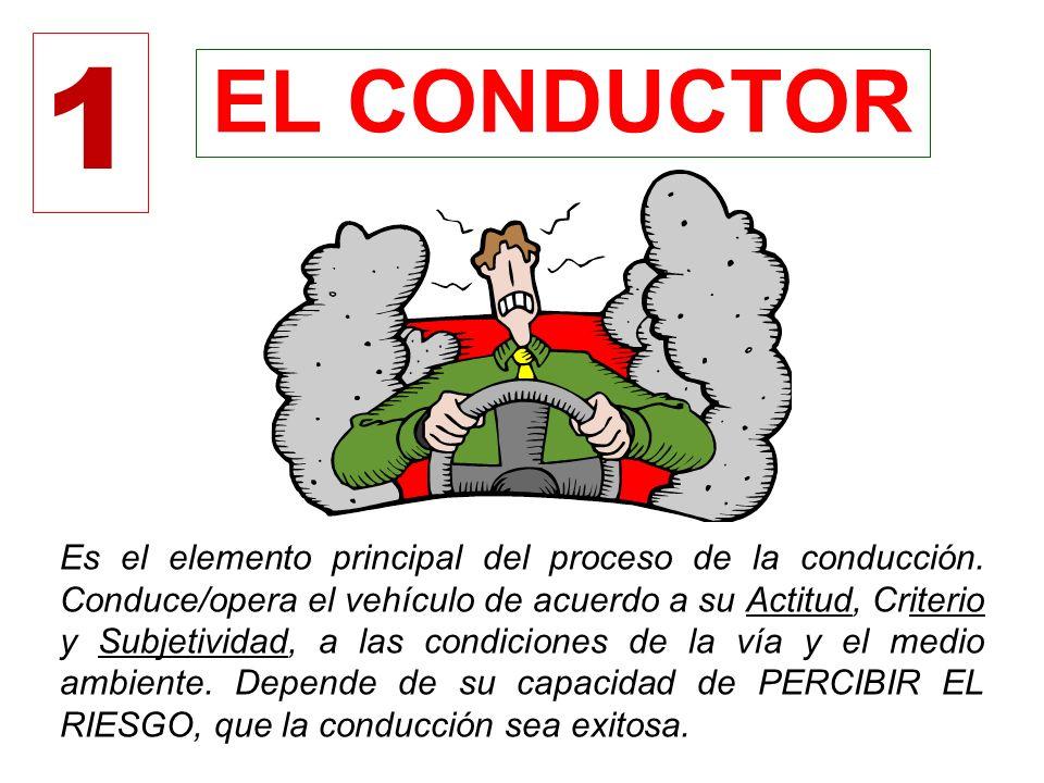 ELEMENTOS QUE PARTICIPAN EN LA CONDUCCIÓN 1 2 3