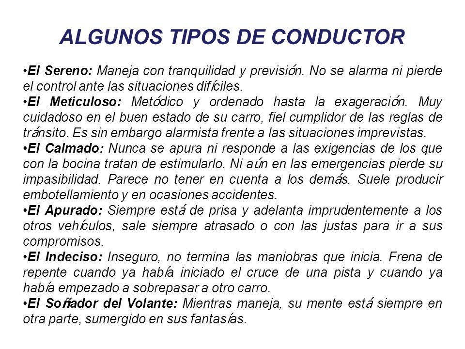 EL CONDUCTOR AGRESIVO