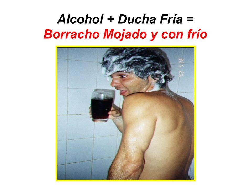 Alcohol + Ejercicio Físico = Borracho Transpirado y Pegajoso