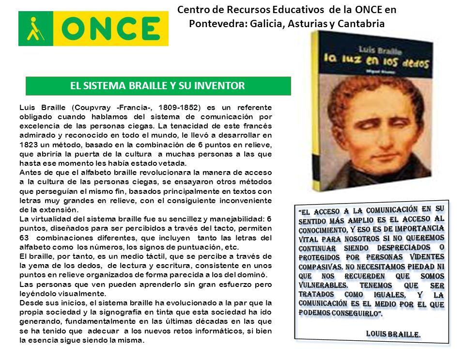 Centro de Recursos Educativos de la ONCE en Pontevedra: Galicia, Asturias y Cantabria ¿QUÉ SENTIMOS CUANDO LA INFORMÁTICA NO ES ACCESIBLE.