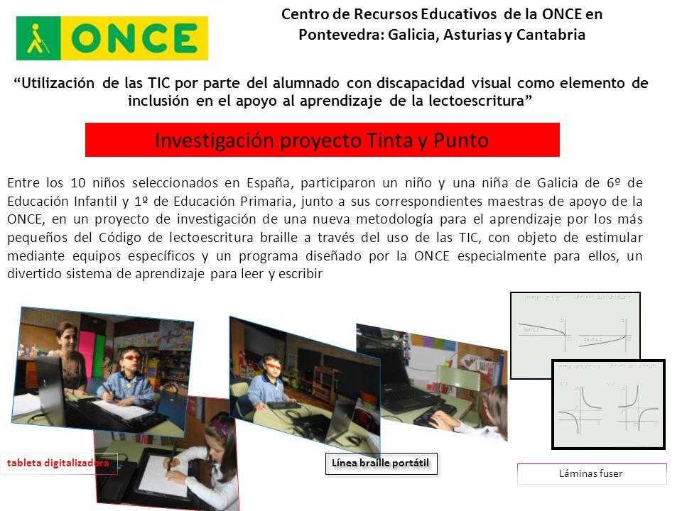 CAOS Centro de Recursos Educativos de la ONCE en Pontevedra: Galicia, Asturias y Cantabria CAOS