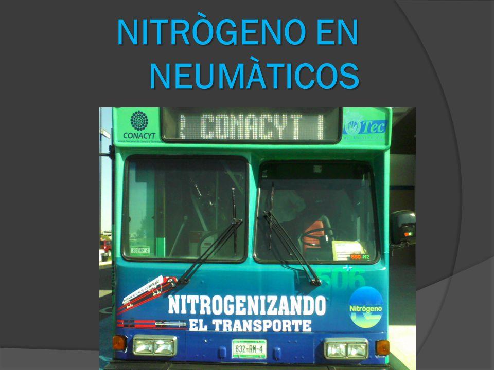 NITRÒGENO EN NEUMÀTICOS