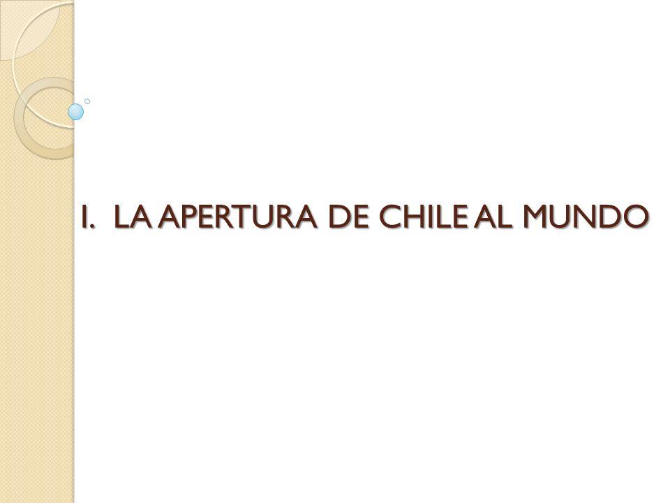 I.LA APERTURA DE CHILE AL MUNDO
