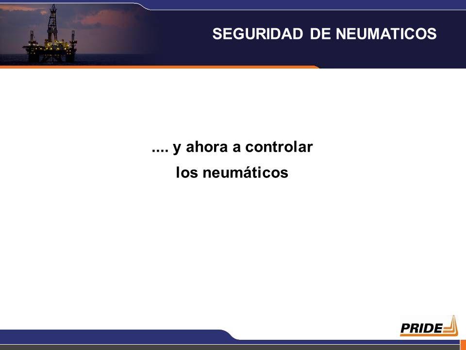 .... y ahora a controlar los neumáticos SEGURIDAD DE NEUMATICOS