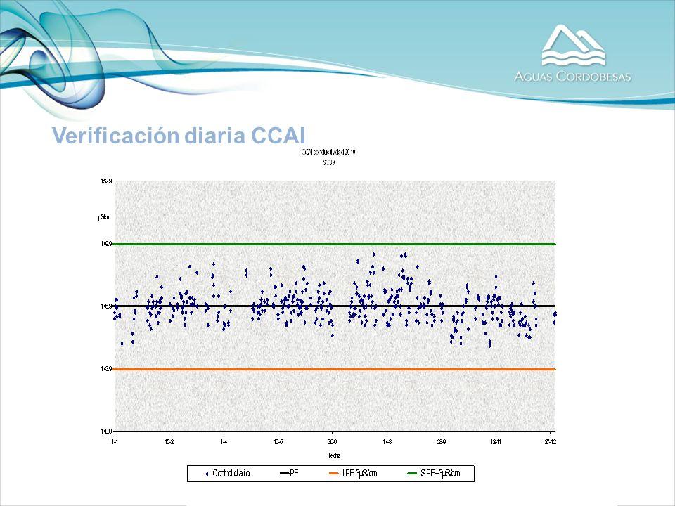 Verificación diaria CCAI