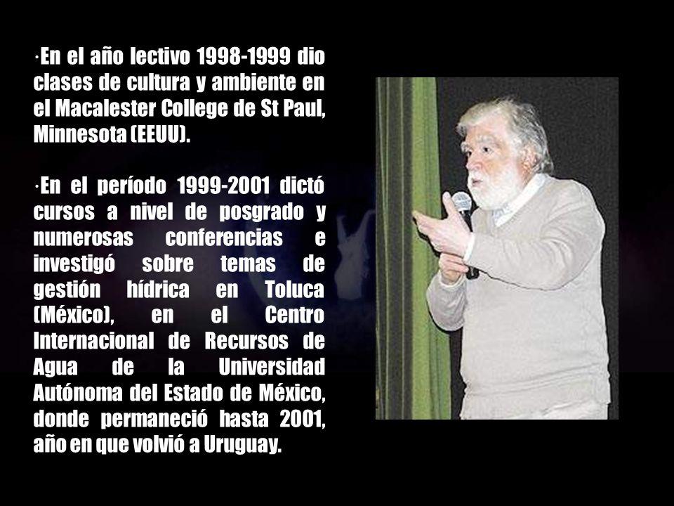 ·La oficina del CIID se trasladó a Montevideo en 1990 y Danilo Antón regresó a su país natal donde continuó con los programas mencionados a los que se