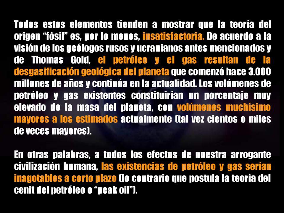 INTRODUCCIÓN AL PETRÓLEO ABIÓTICO CONCLUSIÓN