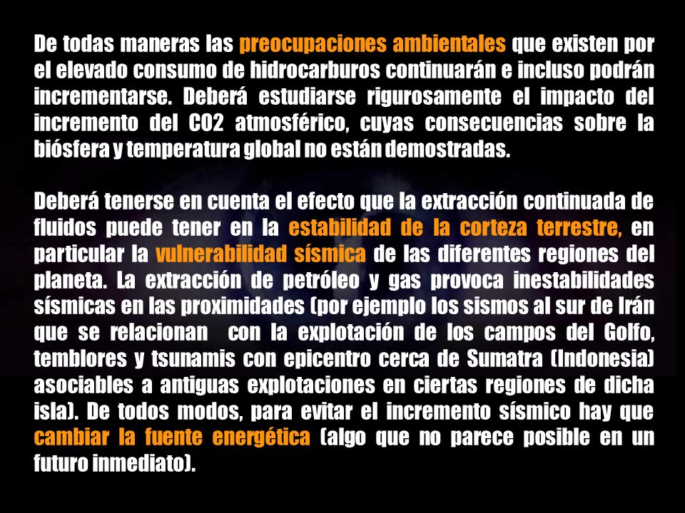 INTRODUCCIÓN AL PETRÓLEO ABIÓTICO CONSECUENCIAS PRÁCTICAS DE LA ADOPCIÓN DE LA HIPÓTESIS ABIÓTICA