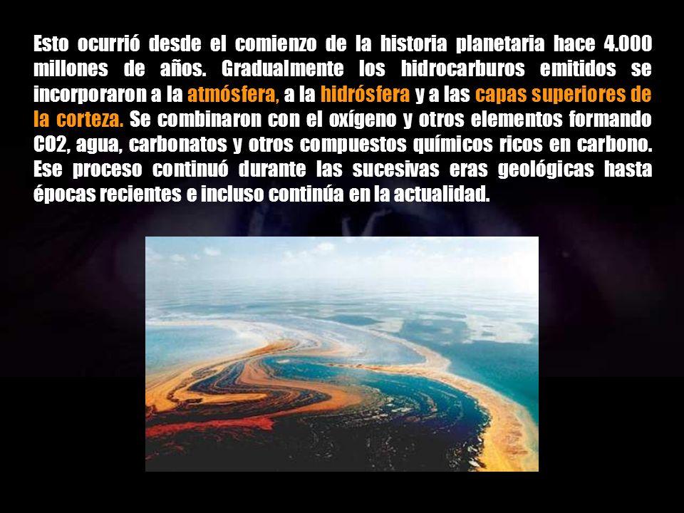 Durante largos períodos de tiempo, millones de años transcurridos, mucho antes de la aparición de la especie humana, en la superficie terrestre había