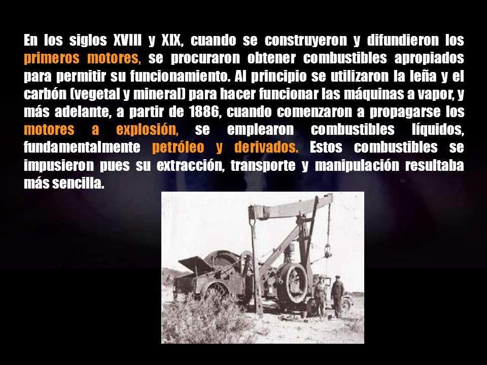 Al principio el uso de hidrocarburos era local, solamente relacionado con la presencia de afloramientos y las necesidades comunitarias. Luego se exten