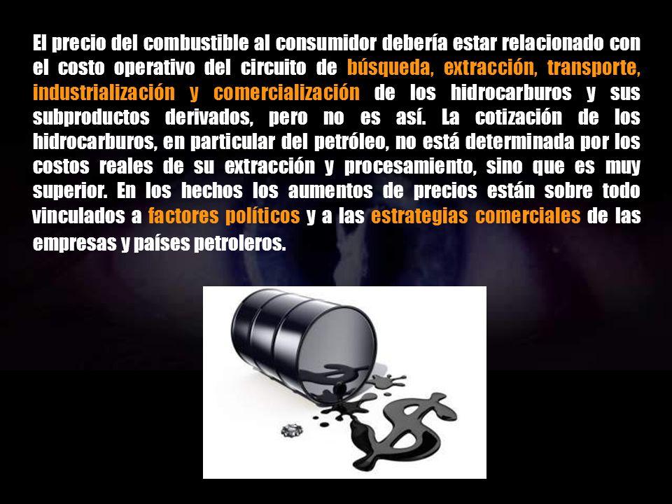 INTRODUCCIÓN AL PETRÓLEO ABIÓTICO COSTOS Y PRECIOS