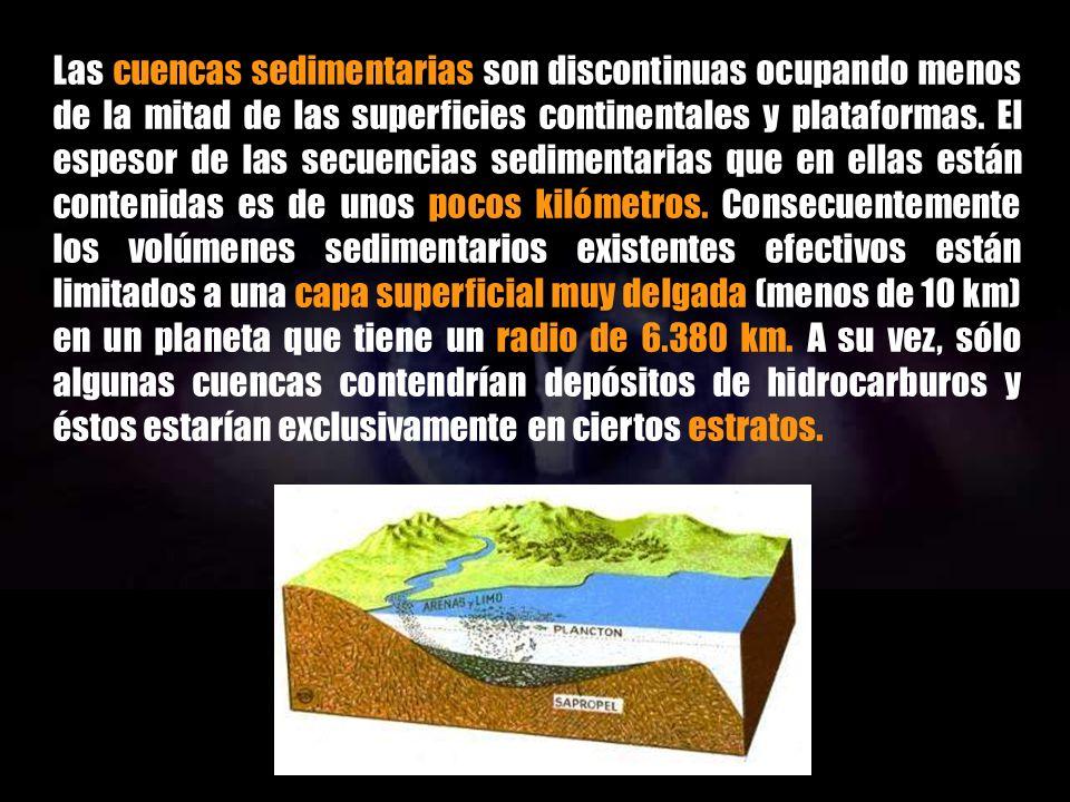 En esta hipótesis genética (paradigma biogénico) el petróleo y el gas natural se formarían a partir de la acumulación de organismos (fósiles) en condiciones geoquímicas reductoras en las cuencas sedimentarias continentales y de las plataformas oceánicas.