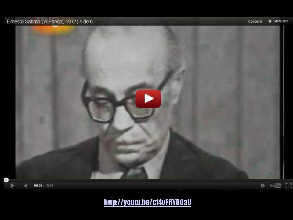 El sabio argentino, Ernesto Sábato, criticó la aparente neutralidad moral de la ciencia y alertó sobre los procesos de deshumanización en las sociedad