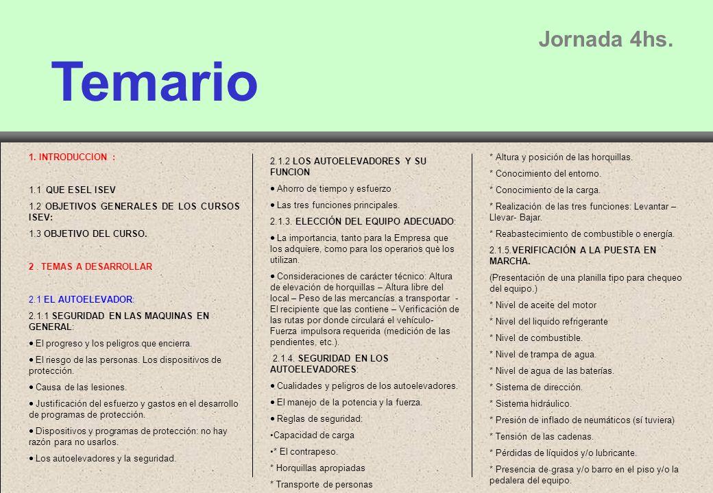 Temario Jornada 4hs.1.