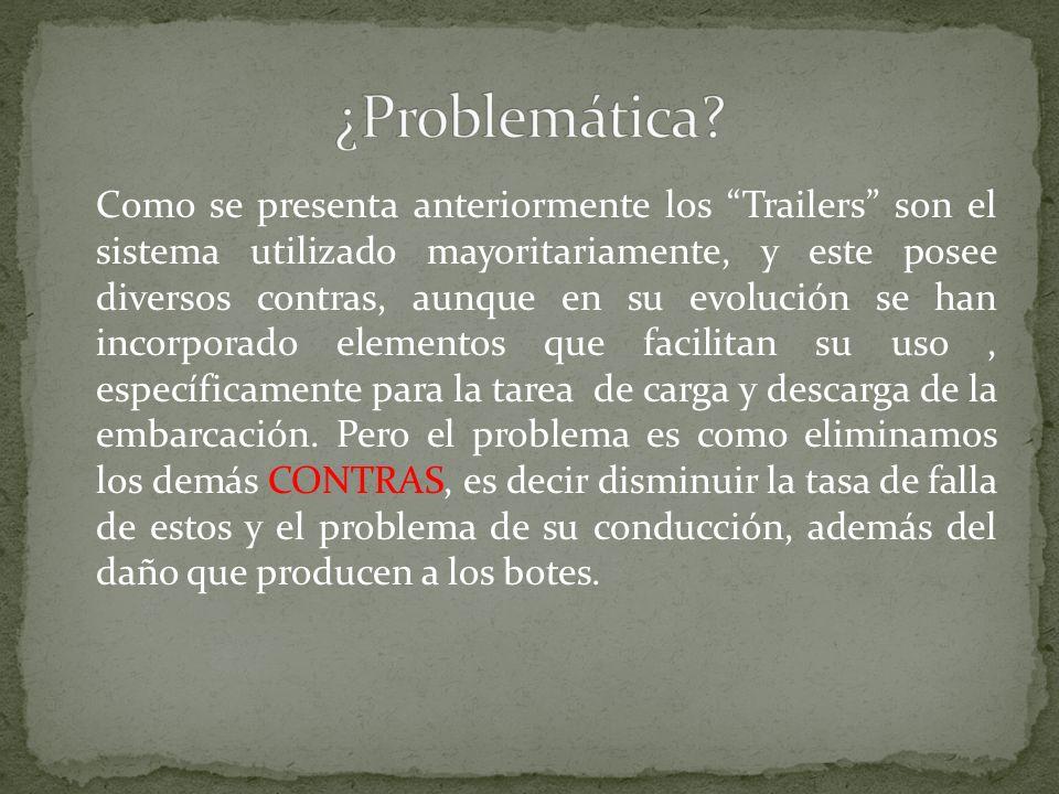 Como se presenta anteriormente los Trailers son el sistema utilizado mayoritariamente, y este posee diversos contras, aunque en su evolución se han in