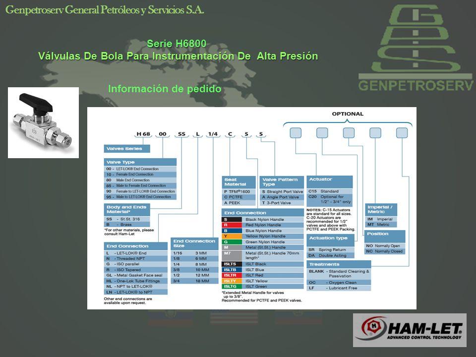 10 Genpetroserv General Petróleos y Servicios S.A.
