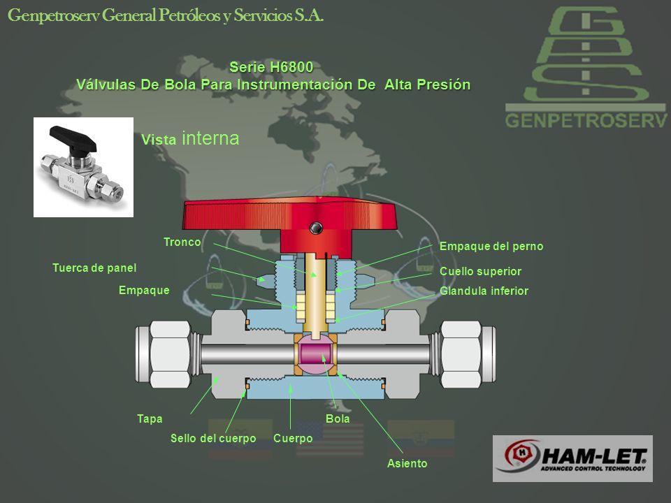 Soluciones Especiales Manifold de H700 Es una cámara o tubería común la cual tiene varias salidas laterales que a su vez conectan con válvulas