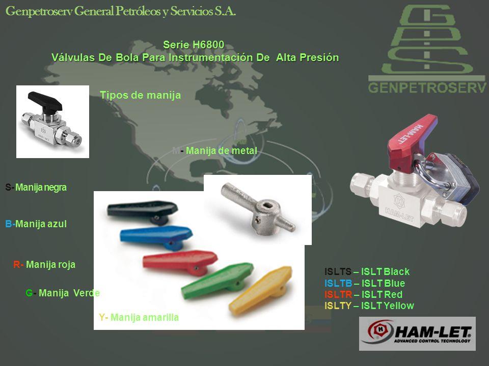 37 Genpetroserv General Petróleos y Servicios S.A. HPA New Pneumatic Actuators Series