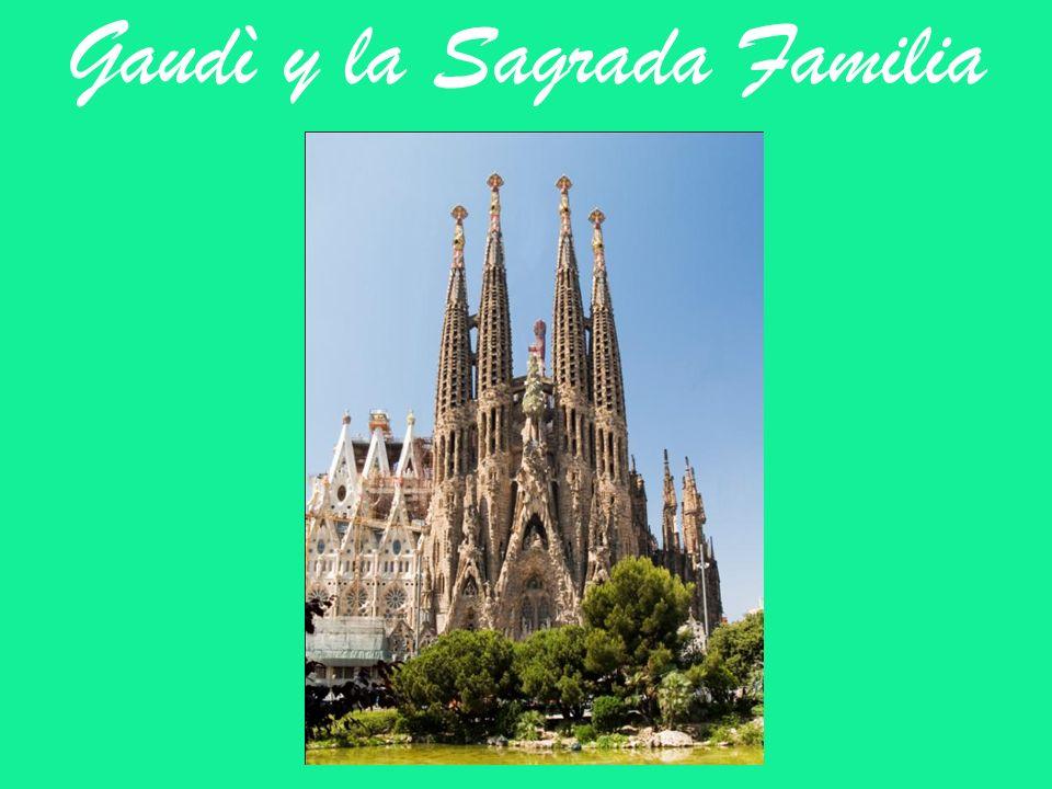 Gaudì Antoni Gaudì es uno de los arquitectos màs conocidos internacionalmente.
