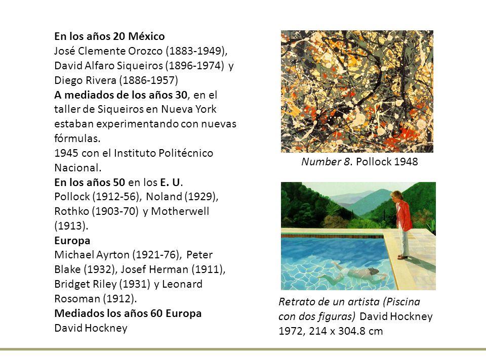 En los años 20 México José Clemente Orozco (1883-1949), David Alfaro Siqueiros (1896-1974) y Diego Rivera (1886-1957) A mediados de los años 30, en el