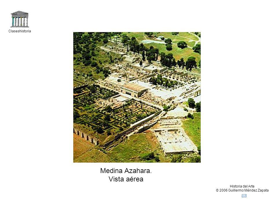 Claseshistoria Historia del Arte © 2006 Guillermo Méndez Zapata Medina Azahara. Vista aérea
