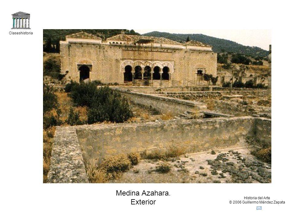 Claseshistoria Historia del Arte © 2006 Guillermo Méndez Zapata Medina Azahara. Exterior