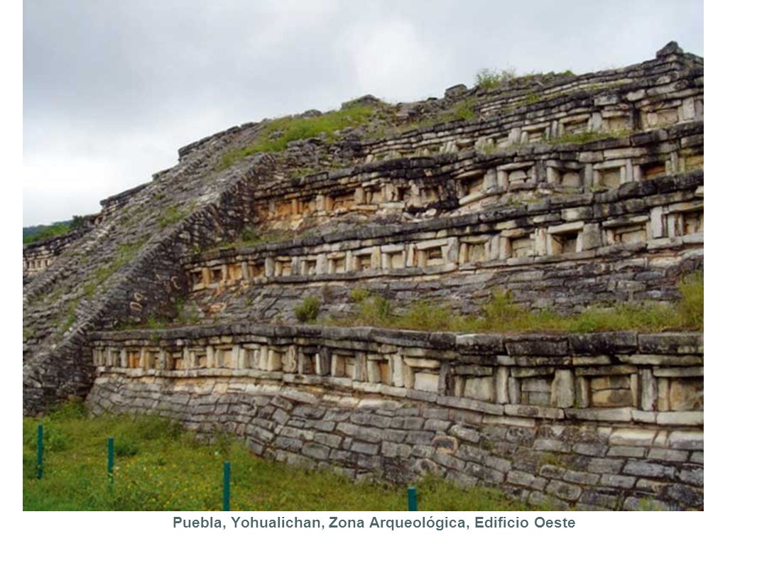 Puebla, Yohualichan, Zona Arqueológica, Edificio Oeste