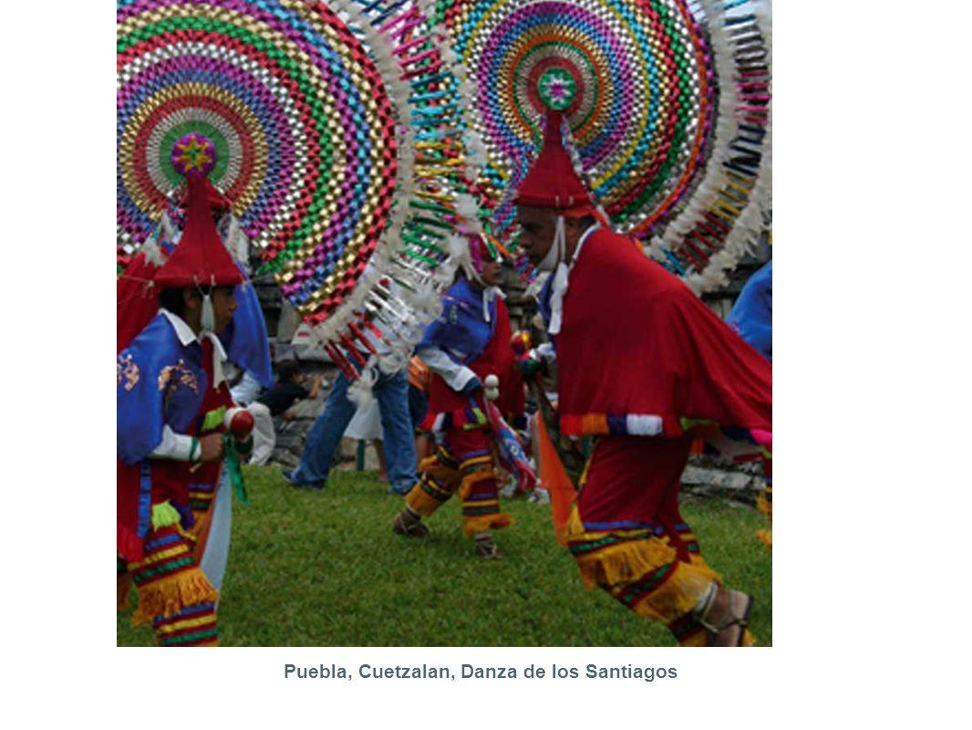 Puebla, Cuetzalan, Danza de los Santiagos