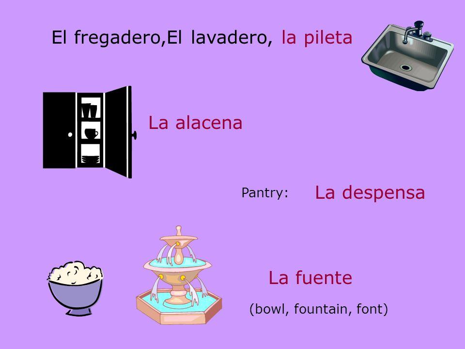 Algunas máquinas terminan en –dor o – dora y son masculinas o femeninas: El refrigerador o la refrigeradora El grabador o la grabadora